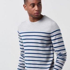 NN07 Merino Stripe 701 White Stripe