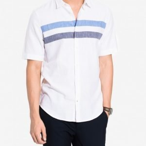 NN.07 Short Sean 5686 Kauluspaita Blue Stripe