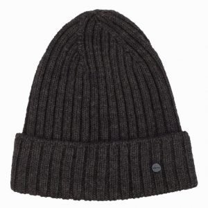 NN.07 Wool Rib Hat 6216 Pipo Dark Grey