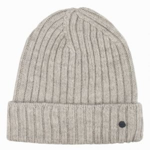 NN.07 Wool Rib Hat 6216 Pipo Light Grey Melange
