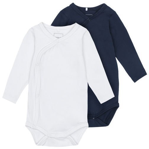 Name it Body 2 kpl Solo Baby Snow White Navy