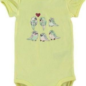 Name it Body Heart Newborn Elfin Yellow Light pink