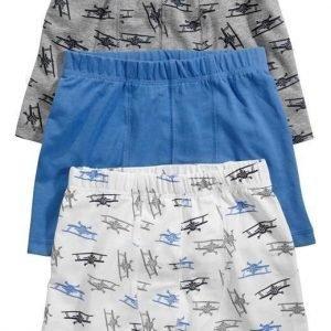 Name it Bokserit 3-Pakkaus Sininen Kuvioitu