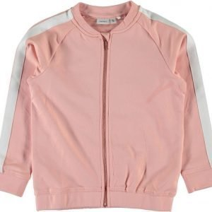Name it Collegepusero Larissa Kids Coral Cloud Mörkgrå