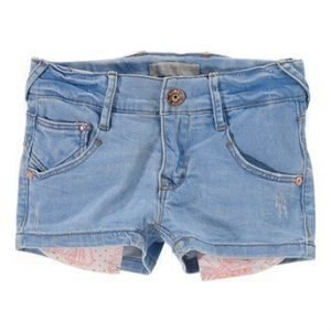 Name it Farkkushortsit Bibsa kids slim dnm  Vaaleansininen Denim