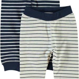 Name it Housut 2 kpl Salk Vauvan Dress Blues Navy