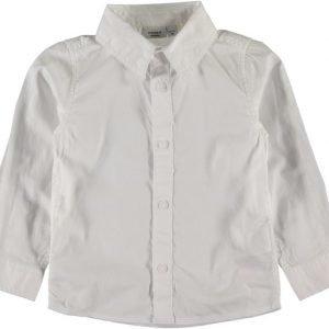 Name it Kauluspaita Paks Bright white