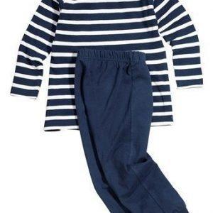 Name it Pyjama Sininen Valkoinen