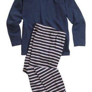 Name it Pyjama Tummansininen Raidallinen