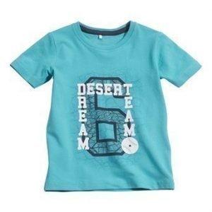 Name it T-paita Vils mini Sininen Vihreä