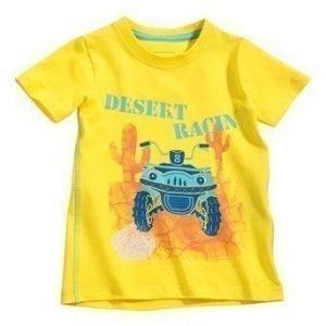 Name it T-paita Vistus mini Keltainen