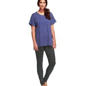 Nanso Pilkut T-Paita Sininen