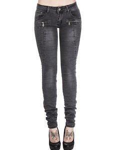 Natalia Biker Jeans