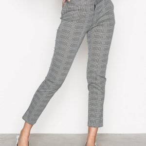 Neo Noir Indiana Black Check Pants Housut Black