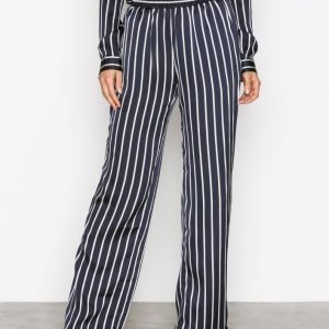 Neo Noir Lina Stripe Pants Housut Navy
