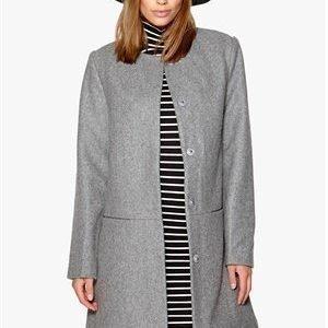 Neo Noir Minea Coat 133 Grey Melange