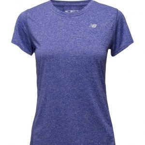 New Balance Heathered Short Sleeve Tee urheilupaita