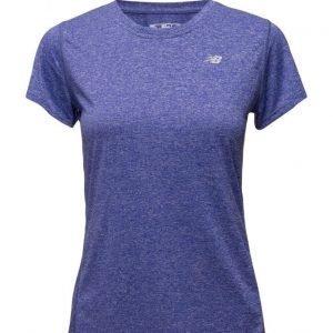 New Balance Heathered Short Sleeve Tee urheilupaita
