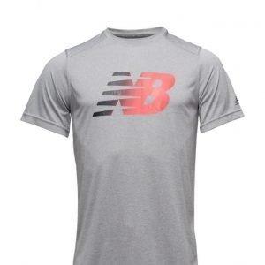 New Balance Ss Hthr Graphic Tee urheilupaita