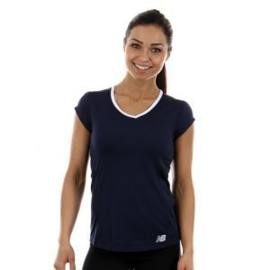 New Balance Tournament Cap Sleeve Top Treenipaita Sininen
