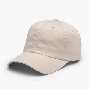 New Black Baseball Cap Beige
