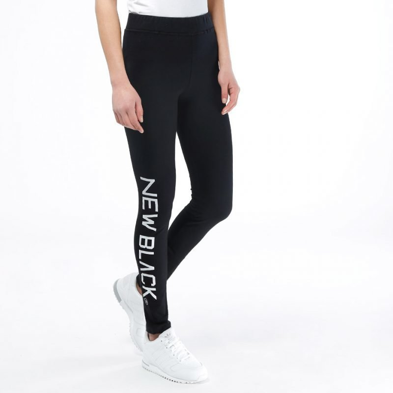 New Black Basic -leggingsit