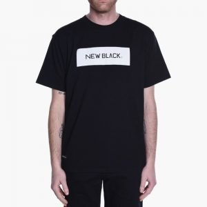 New Black Landscape Logo Tee
