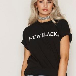 New Black Logo Tee T-Paita Black