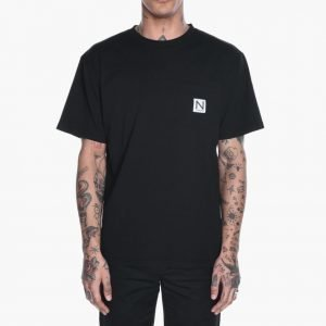 New Black Pocket Tee