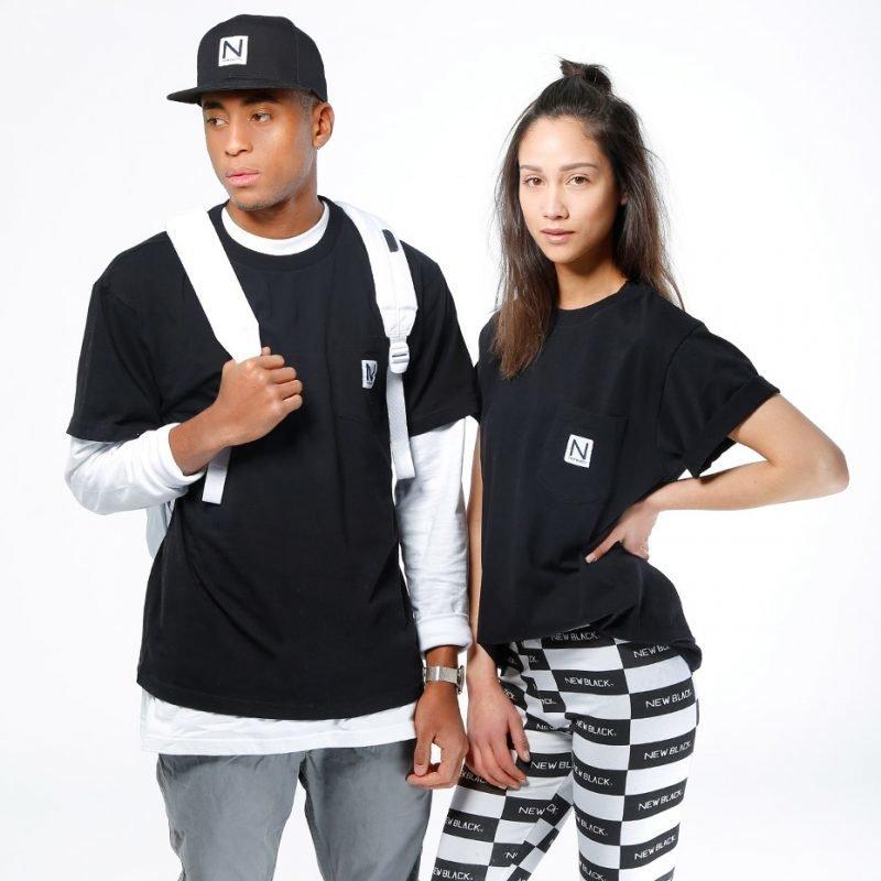 New Black Pocket -t-paita