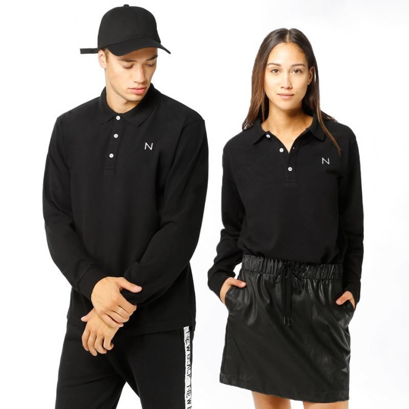 New Black Polo -pikee
