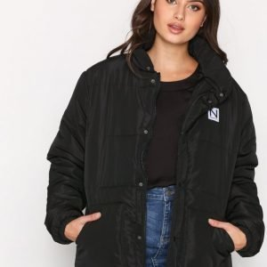 New Black Puff Jacket Untuvatakki Black