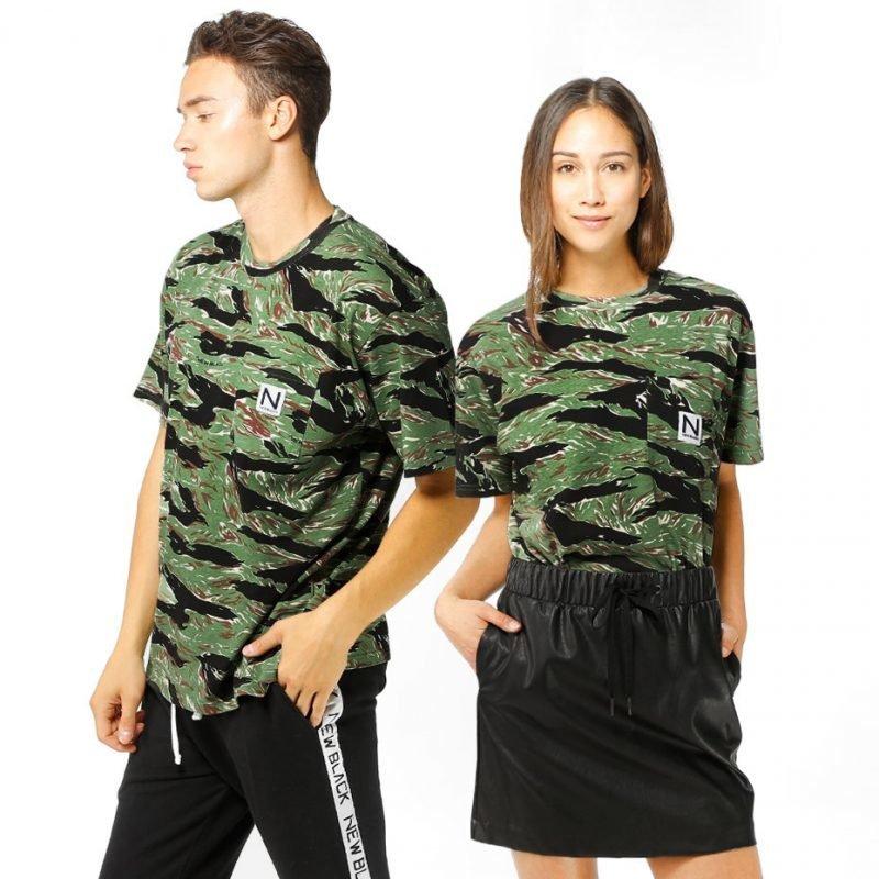 New Black Tiger -t-paita