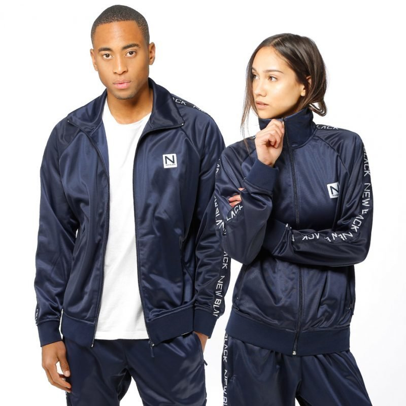 New Black Tony Tracksuit -zip crew