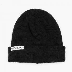 New Black Wool Beanie