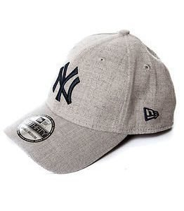 New Era 39Thirty Heather New York Yankees Grey/Navy