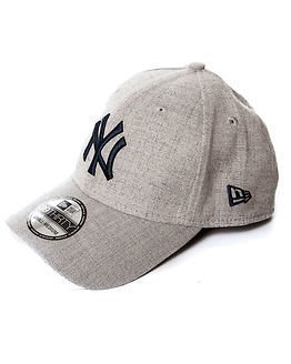New Era 39Thirty Heather New York Yankees Grey/Navy