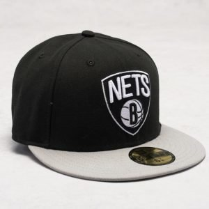 New Era 59 Fifty Brooklyn Nets Black/Grey