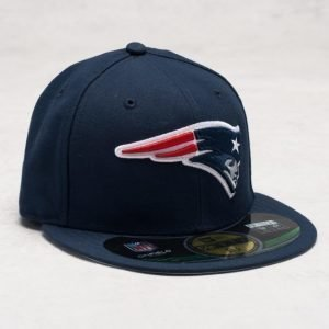 New Era 59 Fifty New England Patriots Navy