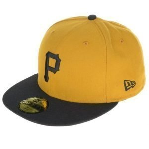 New Era 59 Fifty Pittsburgh Pirates Yellow/Black