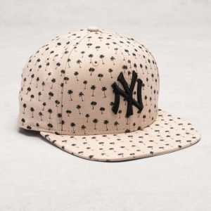 New Era 9 Fifty Micro Palm Snap NY Yankees Stone/Black
