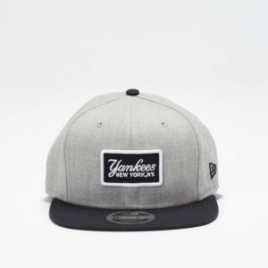 New Era 9 Fifty Yankees Retro Patch Heather