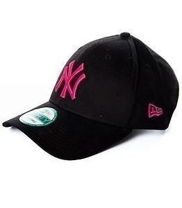 New Era 9Forty League Basic York Yankees Black/Pink