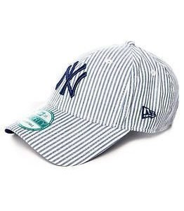 New Era 9Forty New York Yankees Striped Navy/White