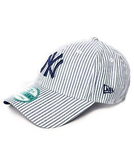 New Era 9Forty New York Yankees Striped Navy/White