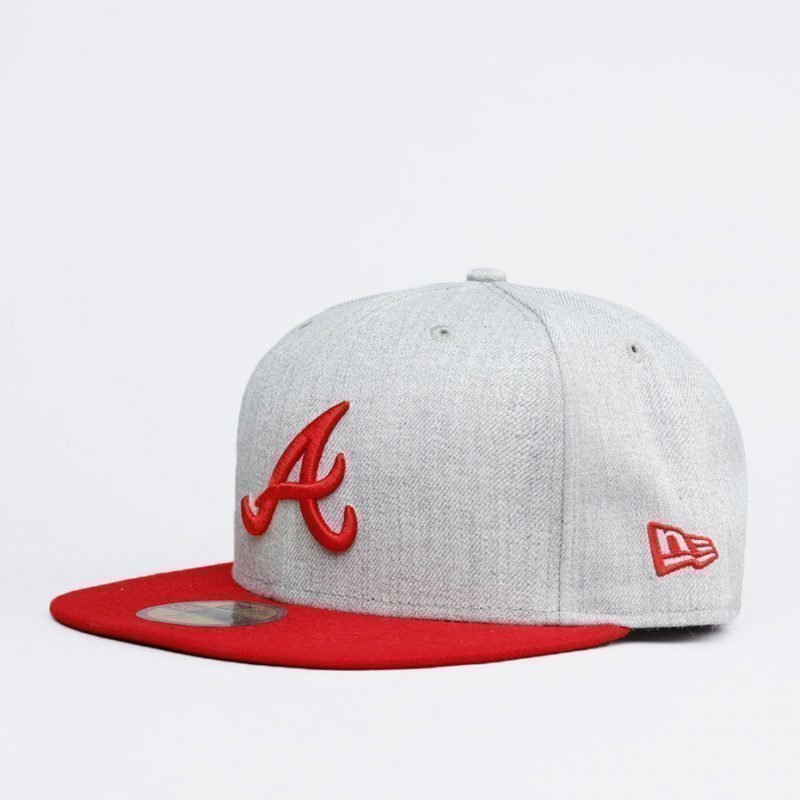 New Era Atlanta Braves Contrast Heather -lippis