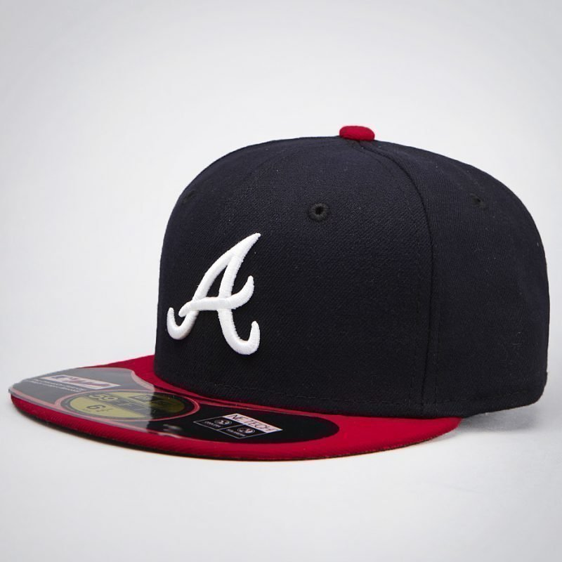 New Era Atlanta Braves MLB Authentic -juniori lippis