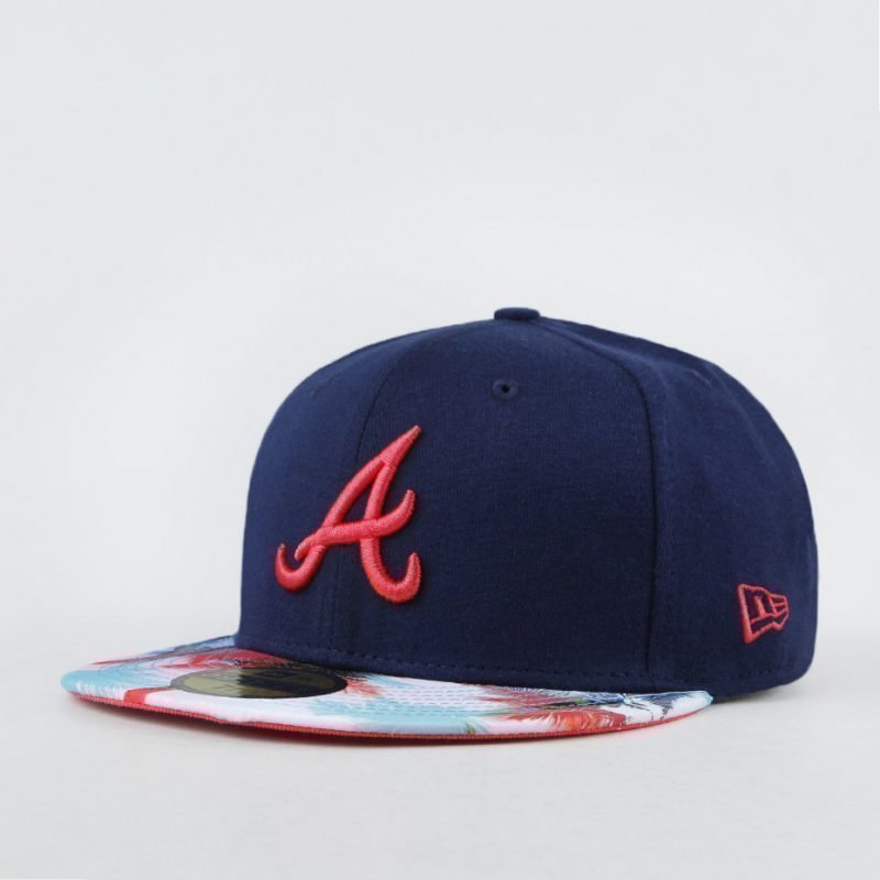New Era Atlanta Braves Miami Vibe -lippis