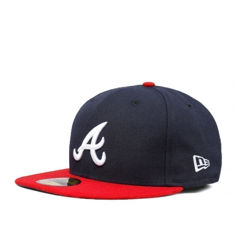New Era Atlanta Braves Team Structured Fitted -lippis
