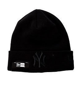 New Era Basic Cuff Knit Black